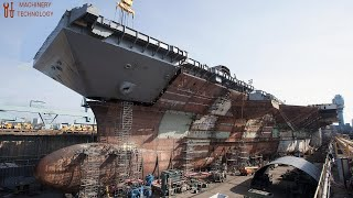 This is How Large Ship Building and Most Skilled Technical Doing Their Job Perfectly