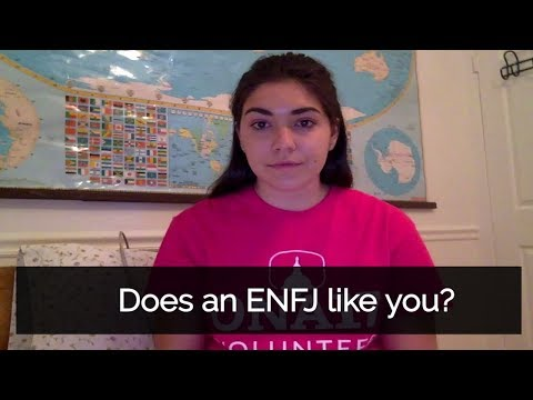 How to tell if an ENFJ likes you