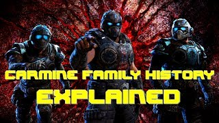 Benjamin Anthony Clayton Carmine Brothers   Quotes Death History Lore Insurance   In Gears of War 5?