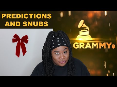 2019 Grammy Nominations - Reaction and Predictions