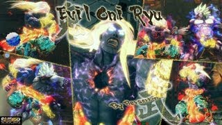 Super street fighter 4 AE PC -  Evil Ryu Mod - Oni 殺意リュウ 対 狂オシキ鬼