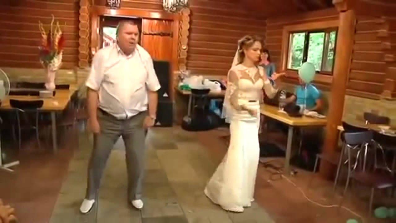 Папа на свадьбе поет