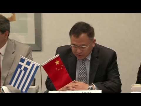 HELLENIC- CHINESE BONDS IN BLUE TOURISM ENTREPRENEURSHIP·-Opening