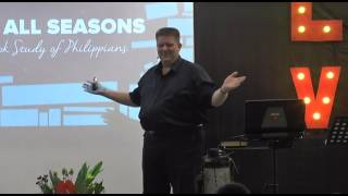 the books of philippians session one by ptr jonathan bradford ccf eastwood