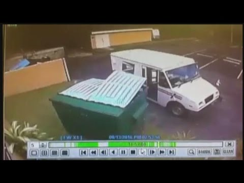 Mail carrier makes dumpster delivery in Lee Co.