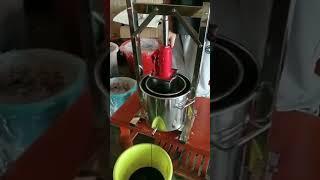 과일 착즙기 대형 초대형 과즙 업소용 분쇄기 프레스 와…