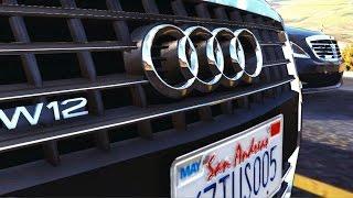 GTA 5 - ''TAŞIYICI 3 - Audi A8 vs. Mercedes Sahnesi''