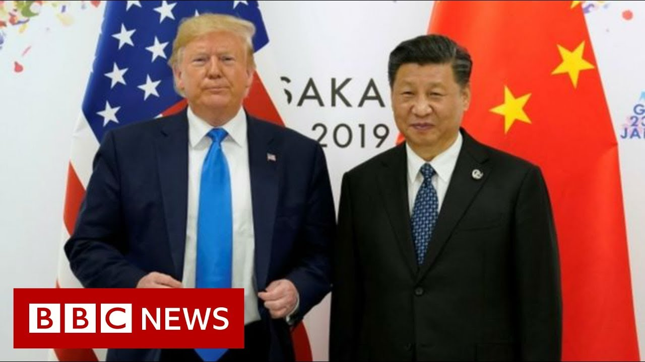 BBC News:Trump suggests 'personal meeting' with Chinese president - BBC News