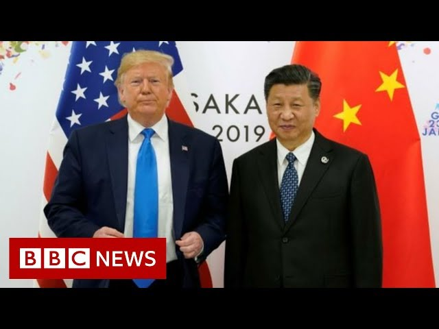 Trump suggests 'personal meeting' with Chinese president - BBC News