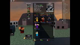 Buying Zed!! | ROBLOX TOWER BATTLES