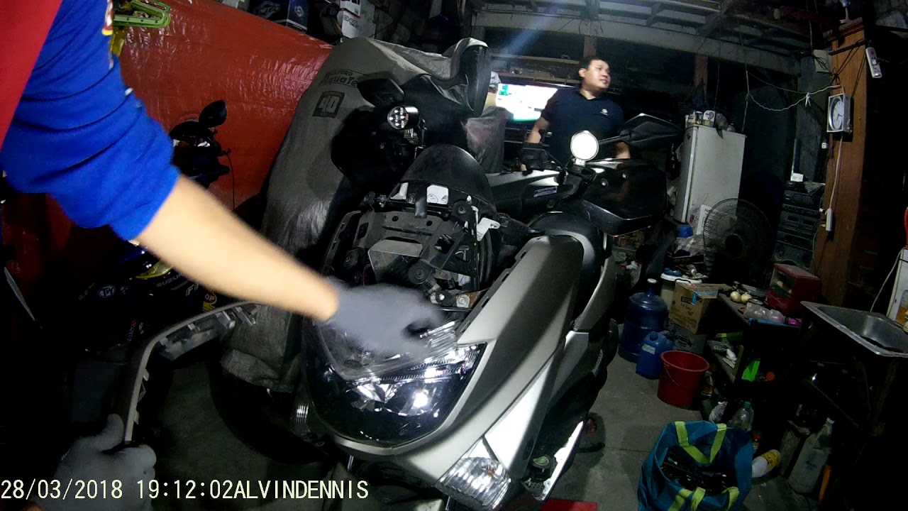 Diy how to remove front cowling cover of yamaha nmax youtube diy how to remove front cowling cover of yamaha nmax cheapraybanclubmaster Images