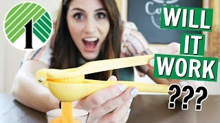 Testing Kitchen Products from the Dollar Tree | DOES IT WORK?