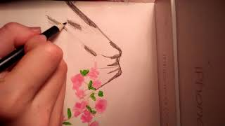 Draw pictures / Draw Phu Si Mountain / It