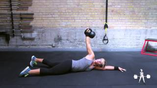 Unapologetically Powerful Demo: Kettlebell Arm Bar