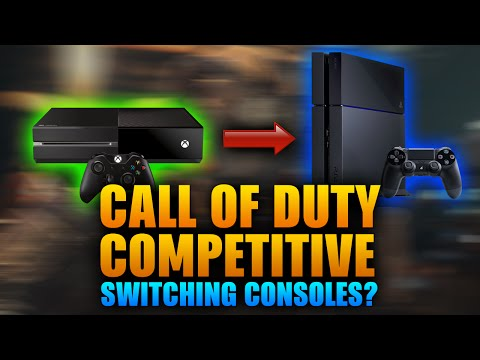 Call of Duty Competitive to Switch Consoles?