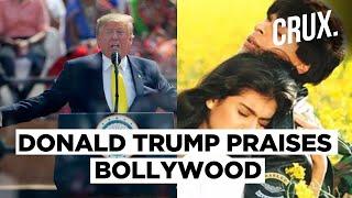 Donald Trump mentions Shah Rukh Khan's 'DDLJ' in speech