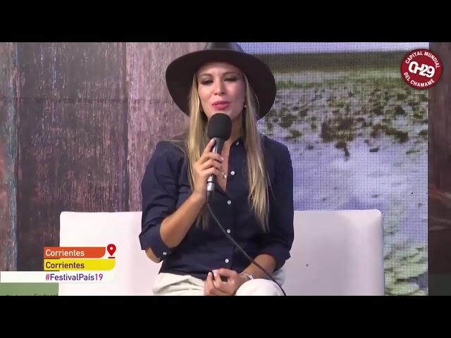 Tv Publica entrevista a Diego Gutiérrez en la Fiesta Nacional del Chamamé 2019 #FestivalPais19
