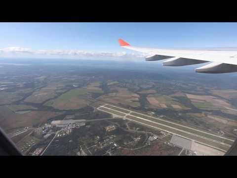 Аэрофлот вылет из Владивостока над городом