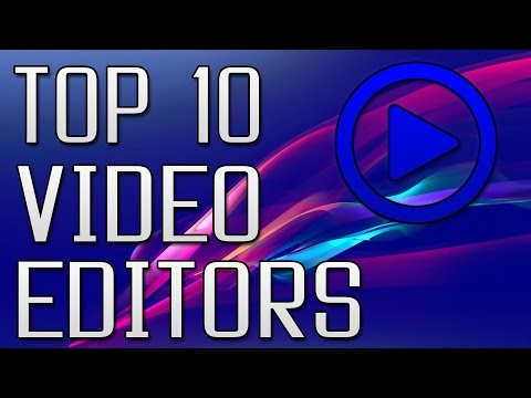Top 10 Free Video Editing Softwares