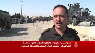 وصول تعزيزات للجيش العراقي إلى شرق الموصل