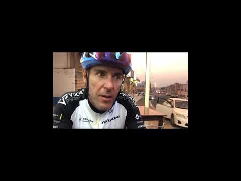 Jason Black | Live Interview with BikingMan during Race Oman