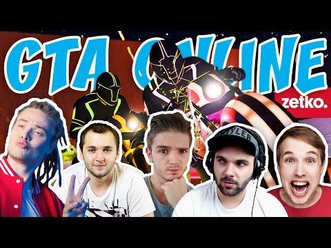 GTA V ONLINE - ZETKO SPECIÁL! | Pedro, Jirka, Selassie, Wedry a Mates