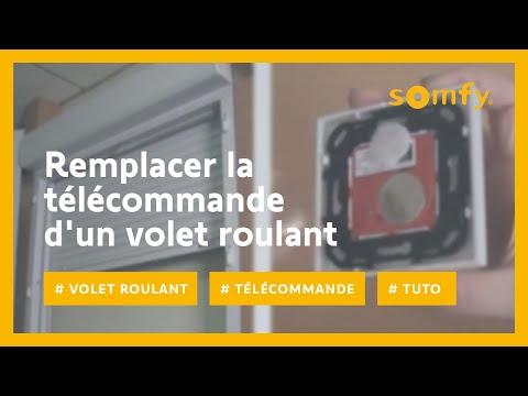 Guide somfy pour remplacer la t l commande cass e ou perdue de vos volets roulants - Deprogrammer une telecommande somfy ...