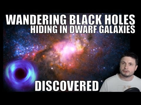 We Found Wandering Black Holes Hiding in Dwarf Galaxies