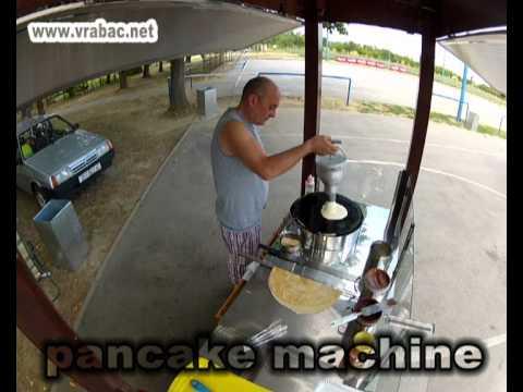 Crepe Machine, Crepe Maker