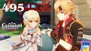 Genshin Impact: Thoma Hangout #6 - Update 2.2 - iOS/Android Gameplay Walkthrough Part 495
