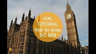 "MAL TUTORIAL: How to draw Big Ben - ""Besserwisser"" - Schülerzeitung@HöGy"