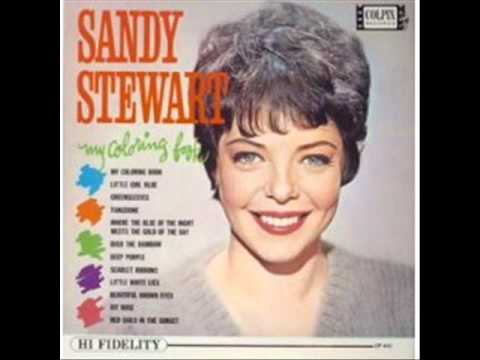 my coloring book sandy stewart 1963