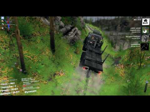 SpinTires TATA H E L L  TOP MAP