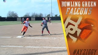 BGSU Softball Highlights vs Miami (April 11, 2018)