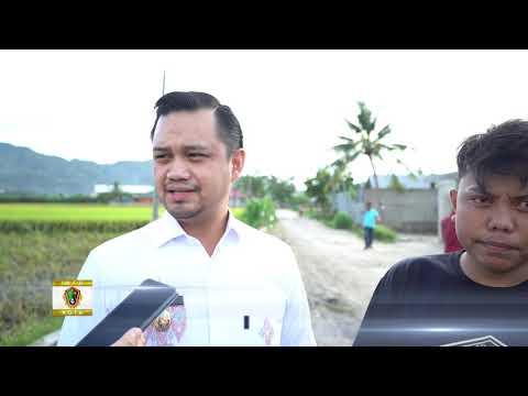 Wakil Walikota Gorontalo Tinjau Jalan Anggrek I di Kelurahan Dembe II Kecamatan Kota Utara