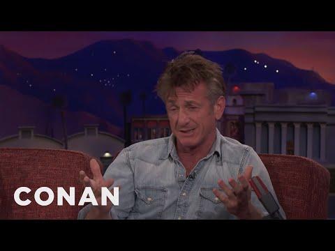 Sean Penn's Message For Critics Of His Book  - CONAN on TBS