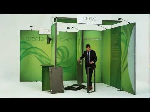 creeya---trade-show-exhibits,-booths-&-displays-(trade-show-booth-set-up-video)-las-vegas