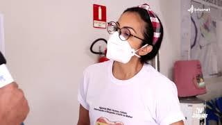 Quixeré   Centro de saúde vacina contra influenza e orienta quanto a vacinação do Covid 19