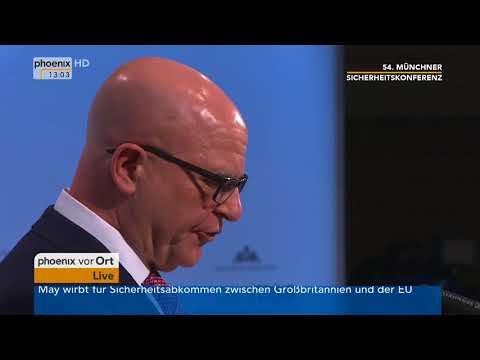 Rede von Herbert Raymond McMaster bei der 54. Münchner Sicherheitskonferenz vom 17.02.2018