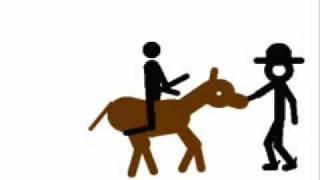 Der Cowboy und das Pferd