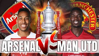 Arsenal vs Man United - We Must Not Lose And Be Another Cup Upset - Preview & Combined 11