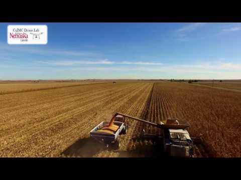 2016 Nebraska harvest: CoJMC's Drone Lab