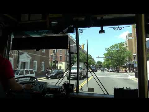 Free King Street Trolley In Old Town, Alexandria, Virginia - USA