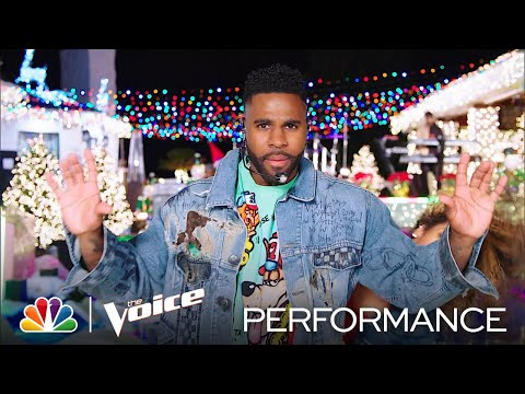 """Jason Derulo Performs a Medley of """"Take You Dancing"""" and """"Savage Love"""" - The Voice Live Finale 2020"""