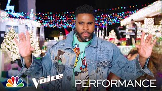 "Jason Derulo Performs a Medley of ""Take You Dancing"" and ""Savage Love"" - The Voice Live Finale 2020"