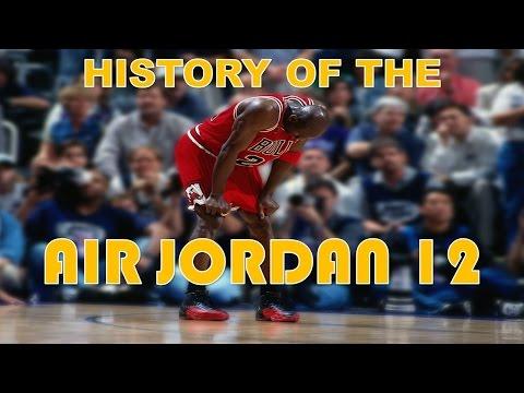 HISTORY OF THE AIR JORDAN 12