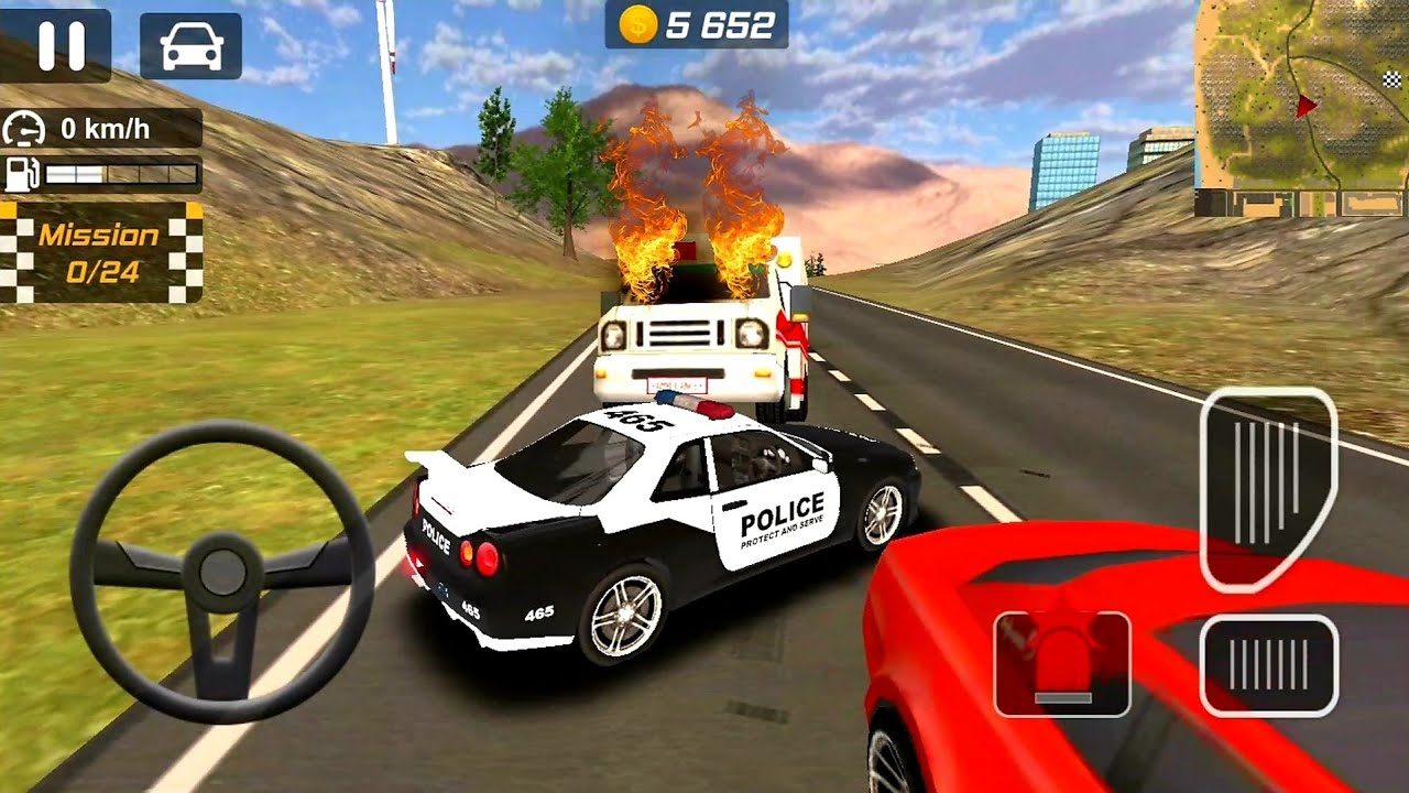 Police Drift Car Simulator #7 Police Car Games - Android Gameplay