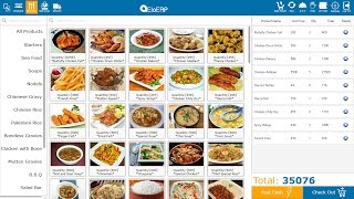 Eloerp point of sale is a complete multipurpose pos application, which can be used for all retail industries. food & beverages -restaurant -coffee shops -caf...
