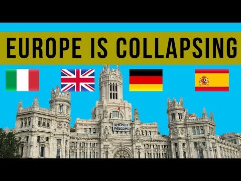 Europe Deflationary COLLAPSE Accelerates! Trillions Printed and Economy Still In Crisis Mode.