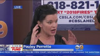 Fire Relief Fund: Pauley Perrette